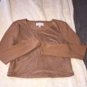 Kendall + Kylie collection long sleeved shirt